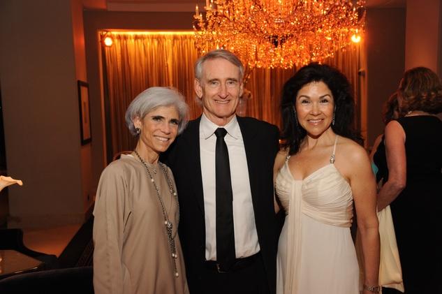 Houston Arts Alliance dinner 5/16,  Judy Nyquist, Scott Wise, Geraldina Wise