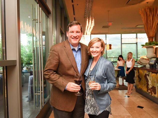Cafe Annie 35th anny, 6/16 Vince Elliott, Patti Elliott