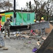 Hurricane Maria, uerto Rico National Guard soldiers, along with volunteers of the Puerto Rico State Guard, work together to fulfill the road clearing mission at Punta Santiago in Humacao, Puerto Rico on September 27, Houzz