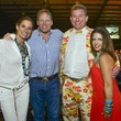 17 Lisa and Michael Holthouse, from left, and Brett and Natalie Agee at the Cattle Barons Ball April 2014