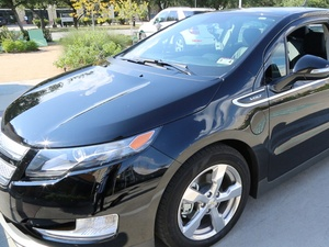 Joel, Chevy Volt test drive, November 2012