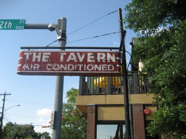 Austin Photo: Places_food_the tavern_exterior