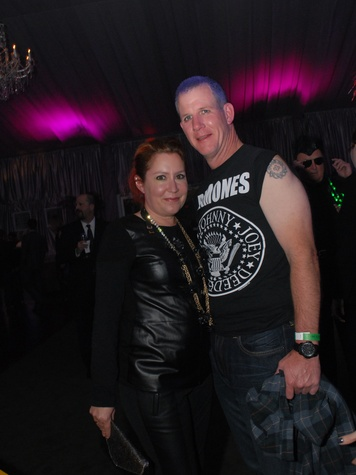 19 4142 Kari Gonzalezs and John Dagley at Club Berlin Baker Institute party November 2013