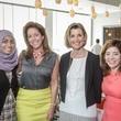 Ellevate Network breakfast 6/16 Adeela Nasser, Jennifer Duhon, Sallie Krawcheck, Mathilde Leary