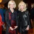 2 Ann Bookout, left, and Diane Lokey Farb at the Salvation Army luncheon November 2013