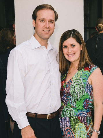 Will and Casey Hedges at The Memorial Hermann at the Under the Boardwalk kickoff party THIS.jpg