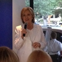 Hillary Clinton at Houston fundraiser