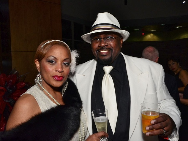 71 Ruby and Reginald Branch at the Fellas and Flappers Sunshine Kids event October 2013