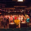crowd, venue at George Lancaster's birthday bash October 2013