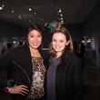 Josephine Nguyen, left, and Dasha Tikhomirova at the MFAH Art Crowd Party November 2014