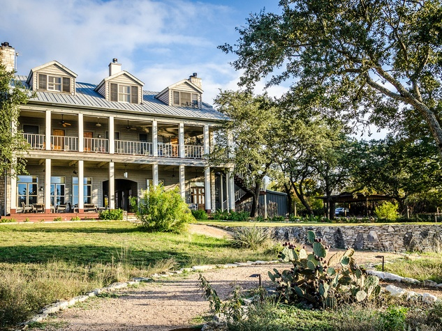 The Inn Above Onion Creek front