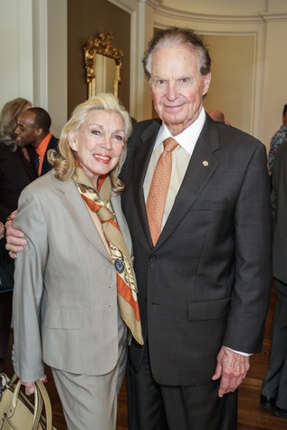 9 Joanne and Welcome Wilson Sr. at the Moores School of Music Luncheon November 2014