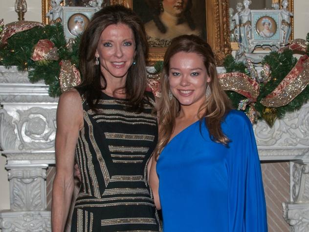 Charlotte Jones Anderson, Haley Anderson, January Deb Parties