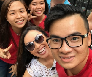 Saigon Stories: Lily Jang and the production crew