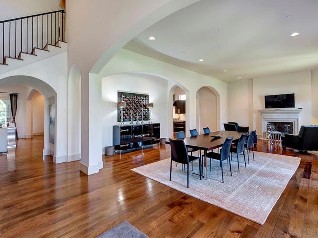 Dining room at 3417 Villanova in Dallas