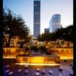 News_Urban Land Institute Houston_awards_January 2012_Market Square Park_Lauren's Garden_night