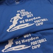 DJ Hayden Football Camp 2015 shirts