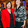 Tracy Janda, left, and Diane Englet at the Center for Houston's Future dinner October 2013