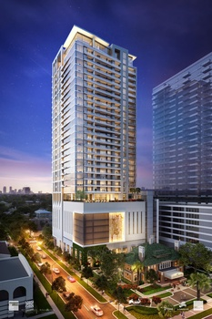 First look at beloved Montrose hotel's luxury high-rise residences