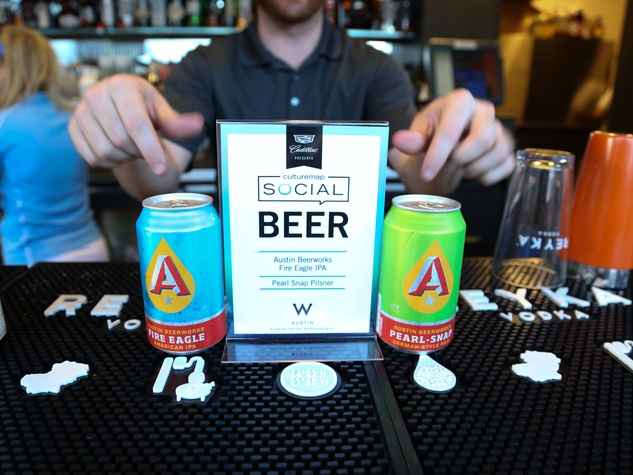 CultureMap Social The W Hotel Wet Deck Austin Beerworks