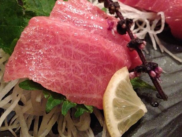 Kata Robata Sushi + Grill tuna O-toro