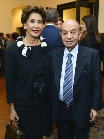 5 Shahla and Hushang Ansary at the Baker Institute reception December 2013