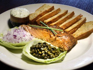 Maguires, house smoked salmon