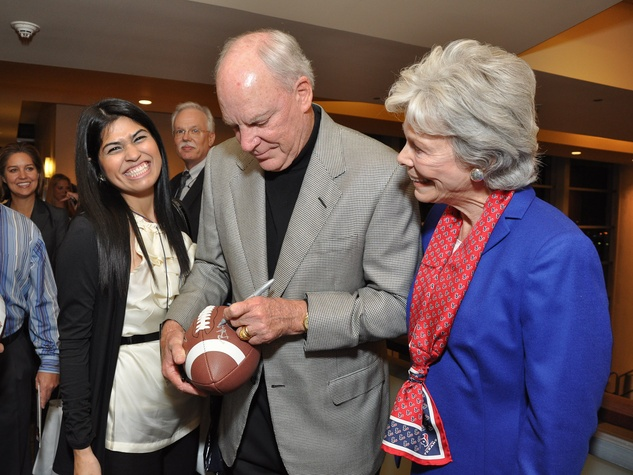 News_Taste of Texans_Delilah Ibarra_Bob McNair_Janice McNair