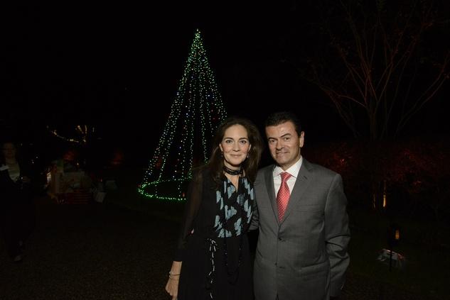 20 Karla and Jorge Goudet at Texas Children's Ambassadors wraps up #GivingTuesday week December 2014
