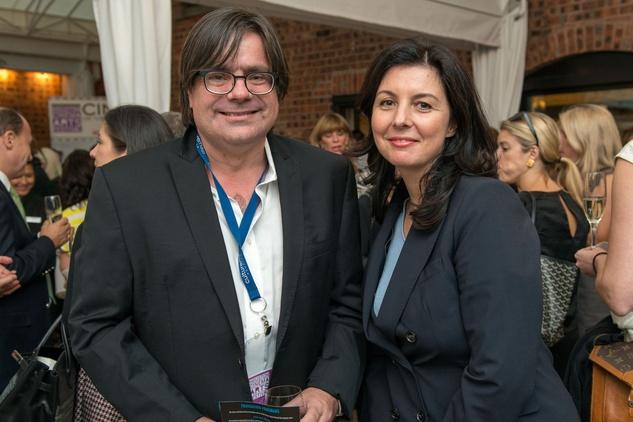 News, Shelby, Houston Cinema Arts Festival launch, Oct. 2014, Charles Dove, Elena Sgarbi