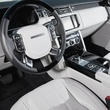 COTY runner up Range Rover Interior