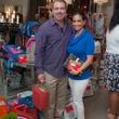 News, Shelby, Alex Martinez Back to School event, Aug. 2015, Dr. Essa Kawaja & Diana Martinez-Cumbow