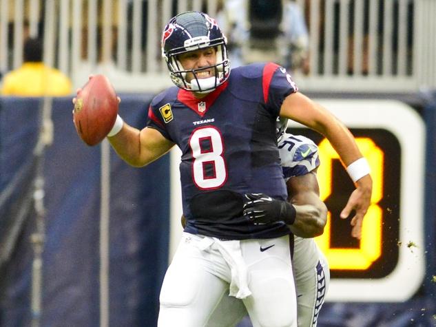 Matt Schaub Texans grasp