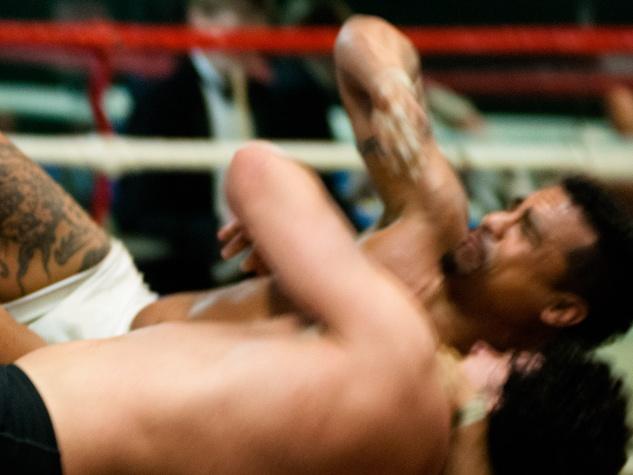 6, Musiqa El Arena performance, December 2012, Shaun El C. Leonardo, wrestling