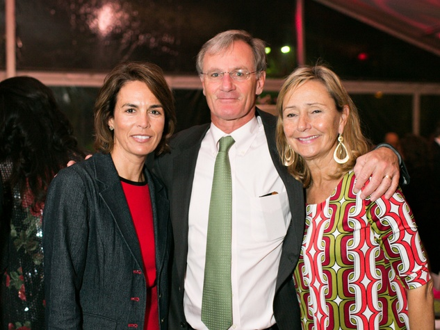 98 Wendy Craven from left, with Roger and Connie Plank at the Memorial Park Conservancy Gala February 2014