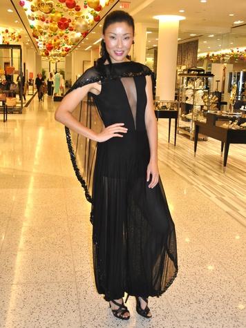 Suzanne Saperstein fashion December 2013 model