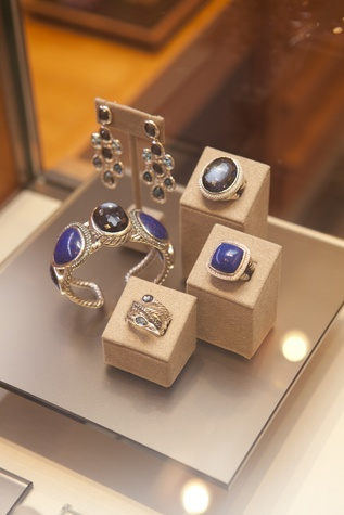 women's jewelry at the David Yurman Meteorite Collection launch