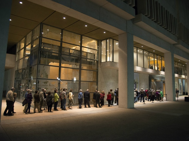 Ampersand Harry Ransom Center spring 2016 exterior line