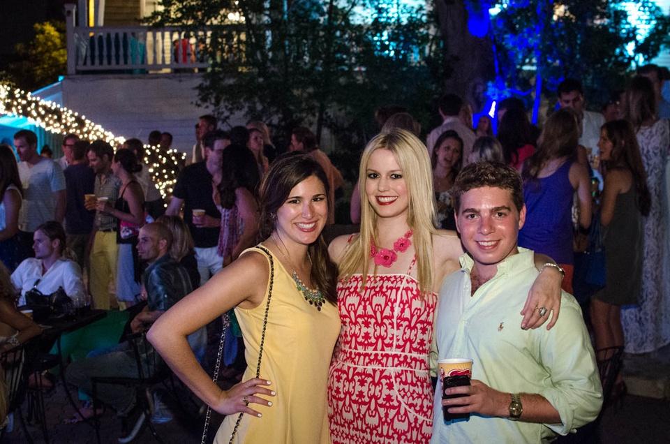 Charitybash Benefit Jen Mejias, Sheridan Butler and Gus Prickett