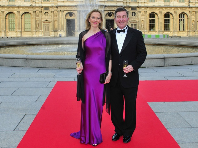 4 Louvre party June 2013 Susan Tolson, Ambassador Charles Rivkin
