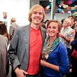 Luke and Nikki Blount at the Lawndale Gala and Retablo Silent Auction October 2013