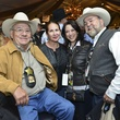 4 Rigo and Sally Flores, from left, and Mary Alice and Ed Lester at the Houston Rodeo barbecue cook-off February 2014