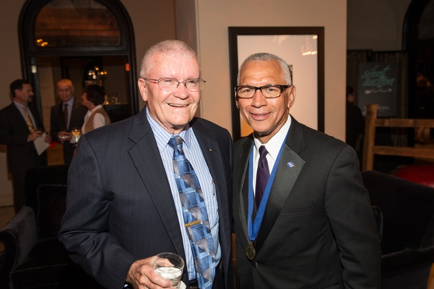 Be An Angel gala 5/16. Fred Haise, Charlie Bolden
