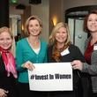 12 Katie Menhert, from left, Sallie Krawcheck, Deborah Stavis and Jennifer Emerson at the Ellevate launch March 2015