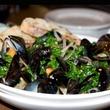 1 Dish Society Houston tasting mussels salad