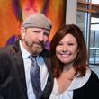 "John Lockhart and C.J. Alvarez at the Valvisions Foundation ""Cinema, Canvas & Cuisine"" March 2015"