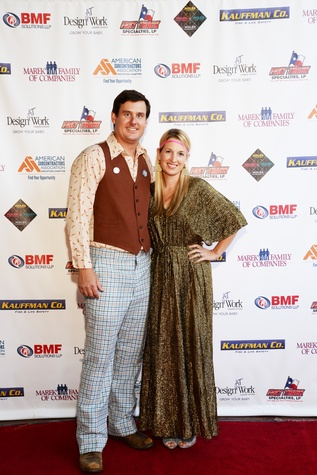 News, Shelby, American Subcontractors Association party, August 2014, Craig Peterson and Tahra Peterson