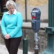 5 art parking meters Houston October 2013 Mayor Annise Parker