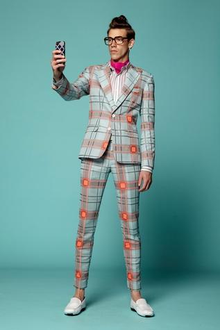 Fashion Week spring 2015 Trina Turk men's suit