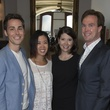 Brandon Weinbrenner, Karen Man, Paige and Bob Martin, Alley Theatre young professionals, Sept. 2014